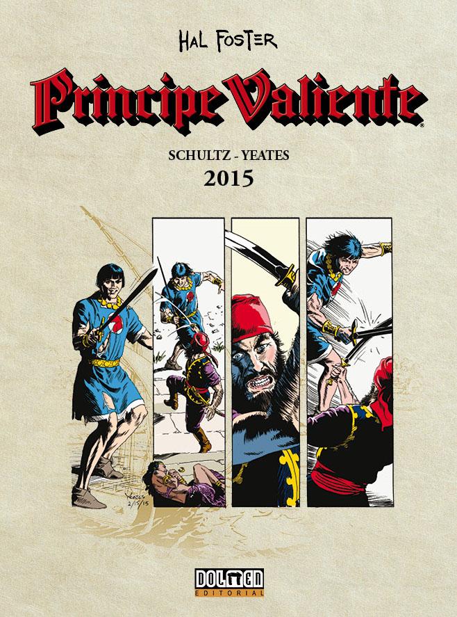 Principe Valiente 2015 - Portada